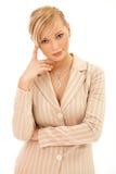 kobieta jednostek gospodarczych Fotografia Royalty Free