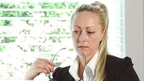 kobieta jednostek gospodarczych zdjęcie wideo