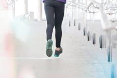 Kobieta jest jogging Zdjęcia Stock
