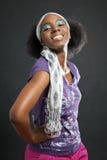 kobieta kolorowa kobieta Obrazy Royalty Free