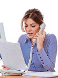 Kobieta konsultant zdjęcia stock