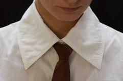 kobieta krawat Obraz Royalty Free