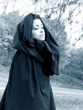 kobieta leśna obraz royalty free