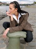 kobieta miasta Obrazy Royalty Free