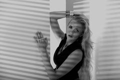 Kobieta model zdjęcia stock