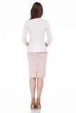 Kobieta modela mody stylu sukni piękna sekretarka dyplomatyczny p Obrazy Royalty Free