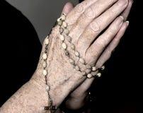 kobieta modlitwa Obrazy Royalty Free