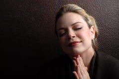 kobieta modlitwa Obraz Royalty Free