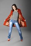 kobieta mody fotografia royalty free