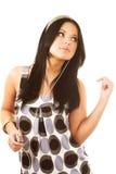 kobieta muzycznej Obraz Stock