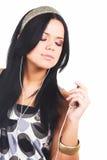 kobieta muzycznej Fotografia Royalty Free