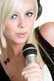 kobieta muzycznej obraz royalty free