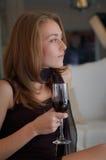 kobieta na imprezę Obrazy Stock