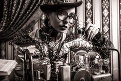 Kobieta naukowiec Obraz Stock
