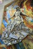 Kobieta odziewająca z słońcem Fotografia Stock