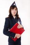 Kobieta oficer Zdjęcie Royalty Free