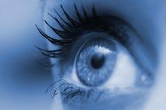 kobieta oko obrazy royalty free
