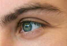 kobieta oko Zdjęcie Stock