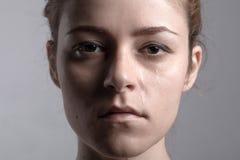 kobieta płacze obrazy royalty free