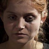 Kobieta płacz Zdjęcie Royalty Free