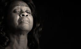 kobieta płacze zdjęcie stock