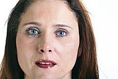 kobieta płacze Zdjęcia Stock