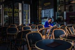 kobieta paryża zdjęcie royalty free