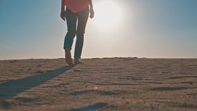 kobieta piaskowata plażowa zbiory