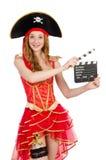 Kobieta pirat obraz stock