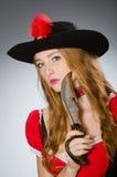 Kobieta pirat Obrazy Stock