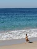 kobieta plażowa fotografia stock