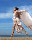 kobieta plażowa obrazy royalty free