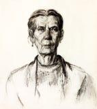 Kobieta portret ilustracji