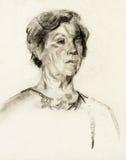 Kobieta portret ilustracja wektor