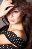 kobieta potargana włosów Obraz Royalty Free
