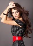 kobieta potargana włosów Zdjęcie Stock