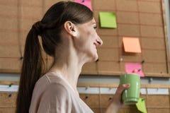 Kobieta pracownik kreatywnie biznesowa agencja Zdjęcia Royalty Free