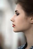 Kobieta profil Obraz Royalty Free