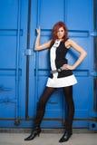 kobieta przemysłowej mody Obraz Royalty Free