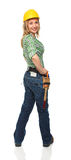 kobieta ręczny pracownik Zdjęcie Stock