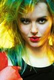 kobieta rock Zdjęcia Stock