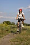 kobieta rowerów Zdjęcie Stock