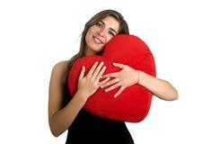 kobieta serca Zdjęcie Stock