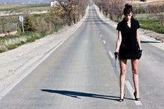 kobieta smokingowa Fotografia Stock