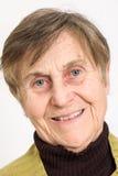Kobieta starszy portret Fotografia Stock