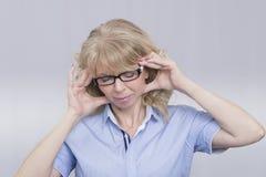 Kobieta stres Zdjęcia Stock