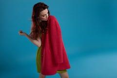 Kobieta styl Moda modela dziewczyna W Pięknych Modnych ubraniach Fotografia Royalty Free
