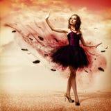 Kobieta taniec Fotografia Royalty Free
