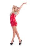 Kobieta taniec Zdjęcia Royalty Free