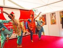 Kobieta taniec Zdjęcie Stock